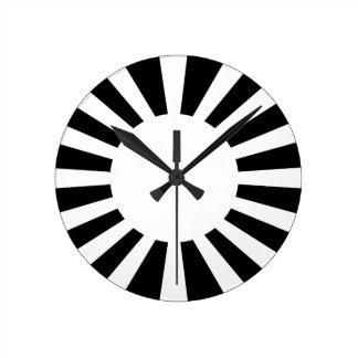 horloges drapeau du japon. Black Bedroom Furniture Sets. Home Design Ideas