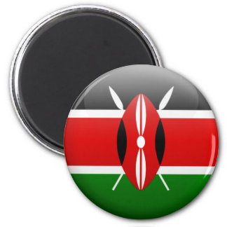Drapeau du Kenya Aimant