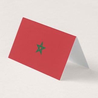 Drapeau du Maroc Carte De Placement
