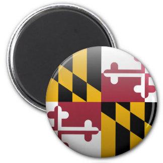 Drapeau du Maryland Aimant