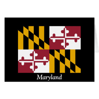 Drapeau du Maryland Carte