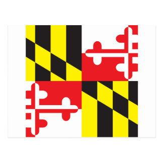 Drapeau du Maryland Carte Postale