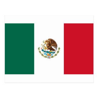 Drapeau du Mexique - drapeau mexicain - Bandera de Carte Postale