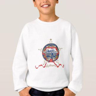Drapeau du Minnesota (1893-1957) Sweatshirt