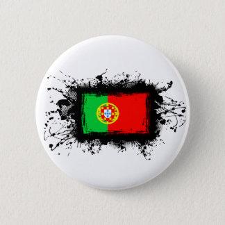 Drapeau du Portugal Badge Rond 5 Cm