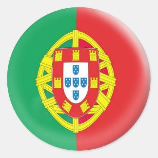 drapeau du Portugal de 20 petit autocollants