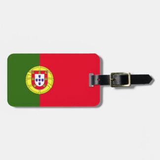 Drapeau du Portugal Étiquettes Bagages