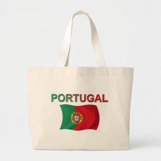 Drapeau du Portugal Sac En Toile Jumbo