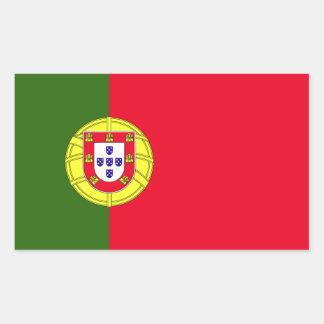 Drapeau du Portugal Sticker Rectangulaire