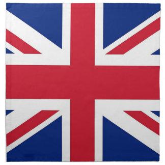 Drapeau du Royaume-Uni sur la serviette de MoJo