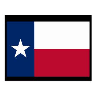 Drapeau du Texas Carte Postale