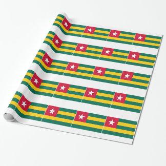 Drapeau du Togo Papier Cadeau