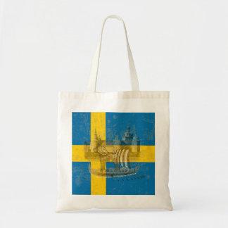 Drapeau et symboles de la Suède ID159 Tote Bag