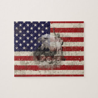 Drapeau et symboles des Etats-Unis ID155 Puzzle
