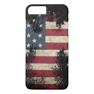drapeau Etats-Unis d'iphone de couverture Coque iPhone 7 Plus
