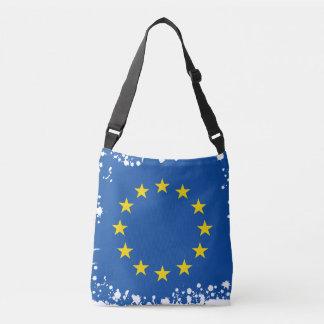 Drapeau européen abstrait, sac de l'Europe