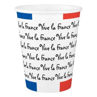 Drapeau français, La France, partie de Vive de Gobelets En Papier