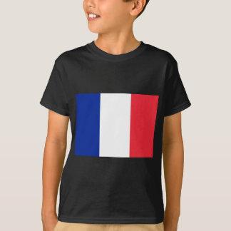 Drapeau français t-shirt