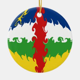 Drapeau Gnarly de Centrafrique Décorations De Noël