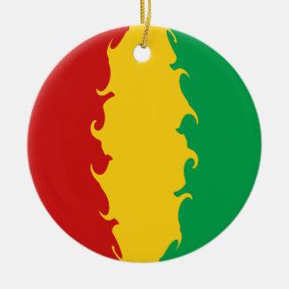 Drapeau Gnarly de Conakry de Guinée Ornements