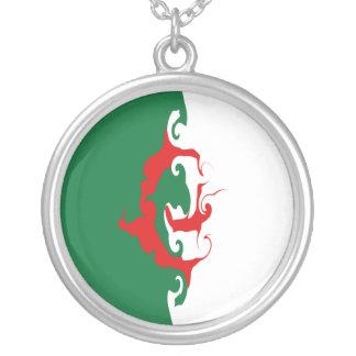 Drapeau Gnarly de l Algérie Collier