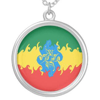 Drapeau Gnarly de l Ethiopie Bijouterie Fantaisie