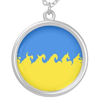 Drapeau Gnarly de l Ukraine Bijouterie