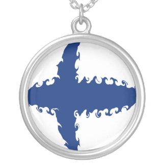 Drapeau Gnarly de la Finlande Pendentifs