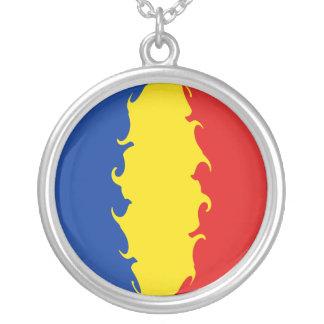 Drapeau Gnarly de la Roumanie Bijouterie