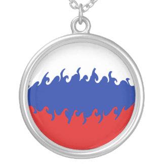 Drapeau Gnarly de la Russie Bijouterie