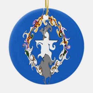 Drapeau Gnarly des Marianne du nord Ornement De Noël