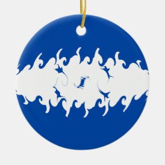 Drapeau Gnarly du Honduras Décoration De Noël