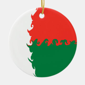 Drapeau Gnarly du Madagascar Décoration Pour Sapin De Noël