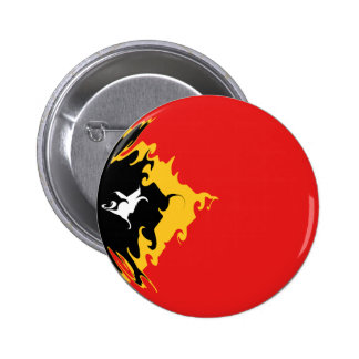 Drapeau Gnarly du Timor oriental Badge