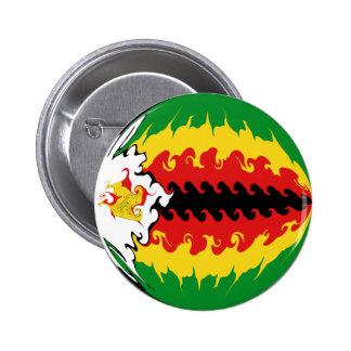 Drapeau Gnarly du Zimbabwe Pin's
