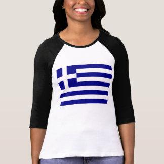 Drapeau grec t-shirt