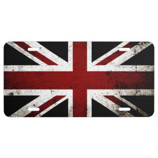 Drapeau grunge noir 3a de l'Angleterre