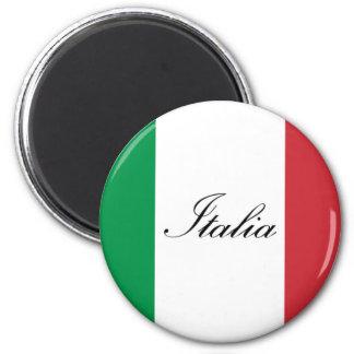 Drapeau italien - drapeau de l'Italie - l'Italie Aimant