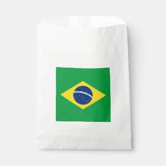 Drapeau : Le Brésil Sachets En Papier