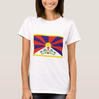 Drapeau libre du Thibet T-shirt