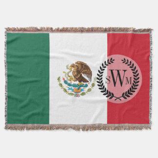 Drapeau mexicain classique couverture