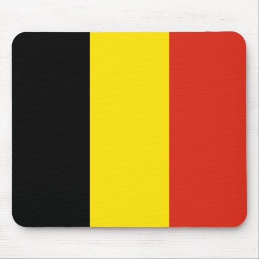 Drapeau mousepad de la belgique tapis de souris zazzle - Tapis de souris personnalise belgique ...