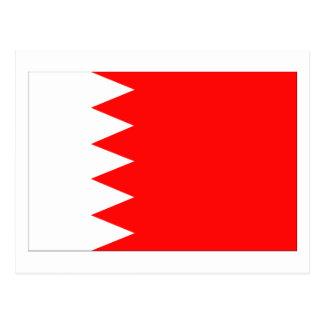 Drapeau national du Bahrain Carte Postale