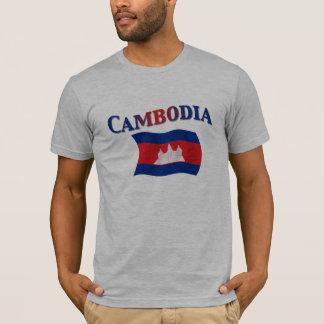 Drapeau national du Cambodge T-shirt