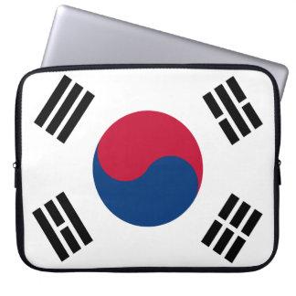 Drapeau national du monde de la Corée du Sud Housse Pour Ordinateur Portable