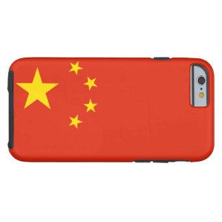 Drapeau national du monde de la république coque tough iPhone 6