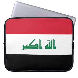 Drapeau national du monde de l'Irak Protection Pour Ordinateur Portable