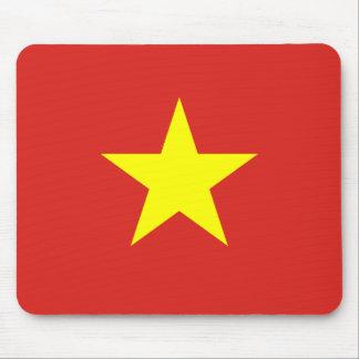 Drapeau national du monde du Vietnam Tapis De Souris
