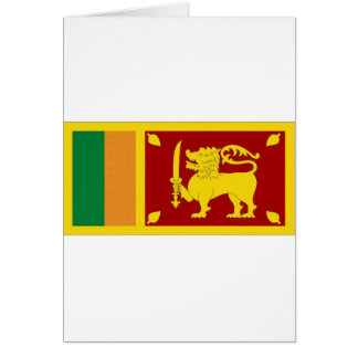 Drapeau national du Sri Lanka Carte