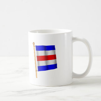 Drapeau nautique 'C Mug Blanc